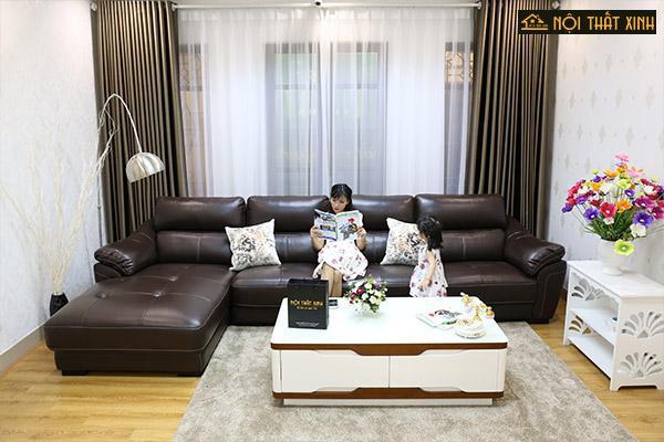 Bỏ Túi 5 Kinh nghiệm mua sofa da phòng khách chuẩn - Ảnh 1.