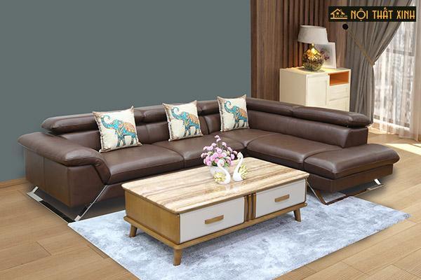 Bỏ Túi 5 Kinh nghiệm mua sofa da phòng khách chuẩn - Ảnh 2.