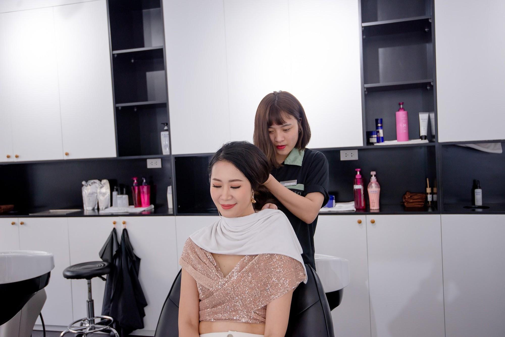 Zusso Hair Salon hút giới trẻ sành điệu Hà thành - Ảnh 1.