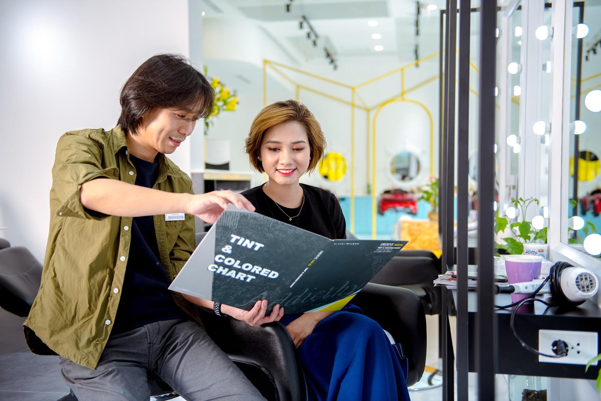 Zusso Hair Salon hút giới trẻ sành điệu Hà thành - Ảnh 5.