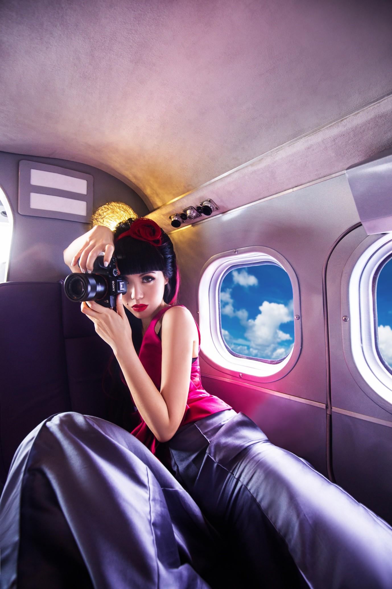 Người thổi hồn cho những kiểu tóc của Jessica Minh Anh tại Maldives - Ảnh 8.