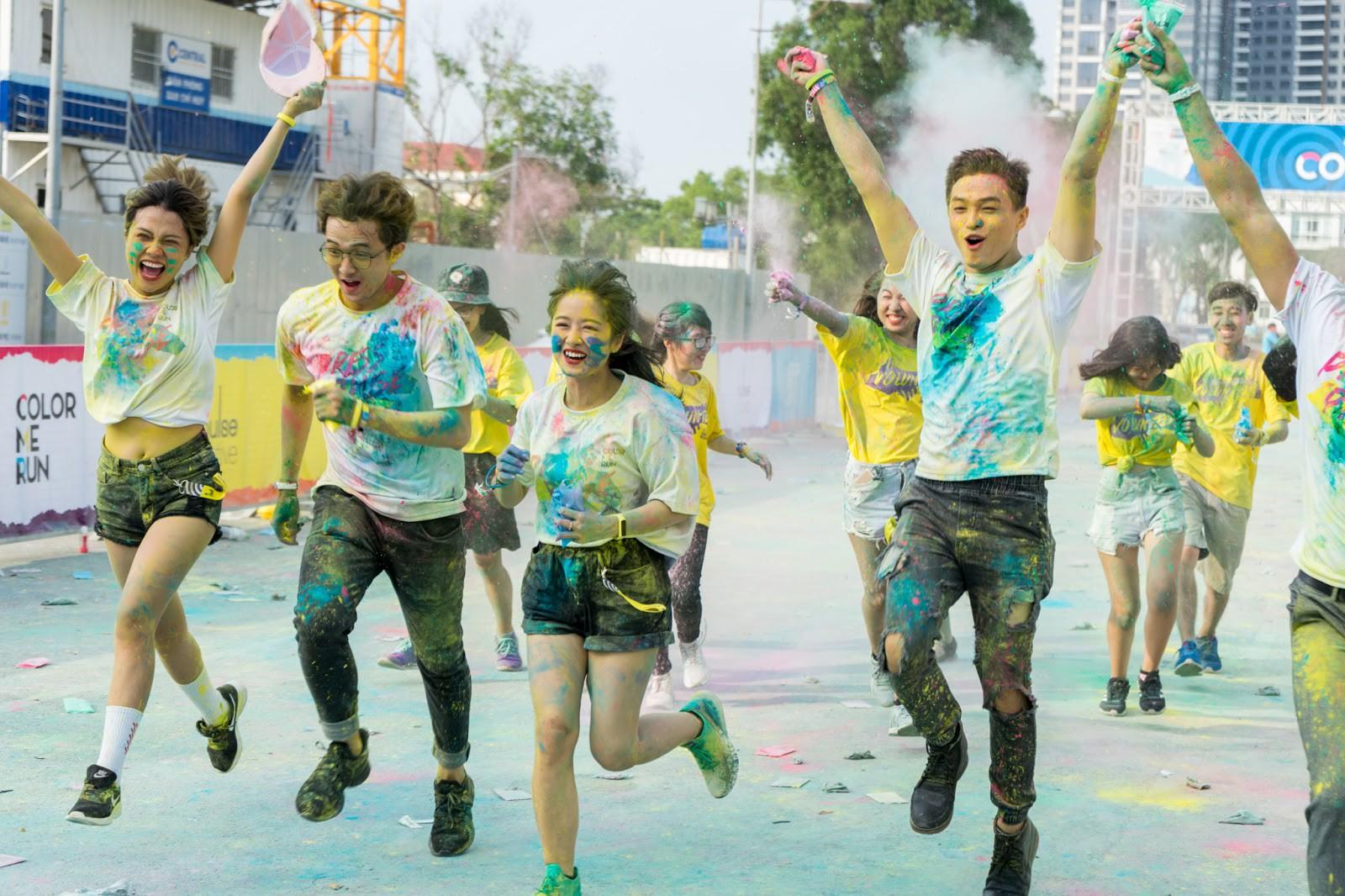 Phải đi Color Me Run một lần để biết ngày thường chúng ta lười vận động như thế nào - Ảnh 1.