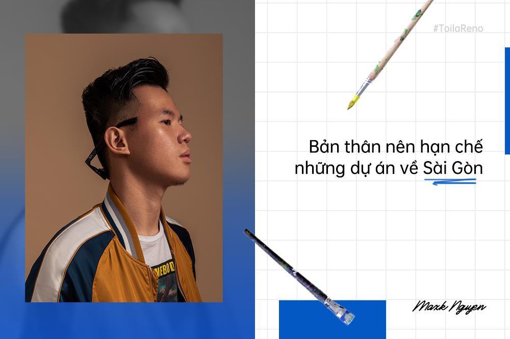 Maxk Nguyễn - Nhà thiết kế trẻ dám nghĩ, dám sáng tạo và không ngại vượt ra khuôn khổ - Ảnh 3.