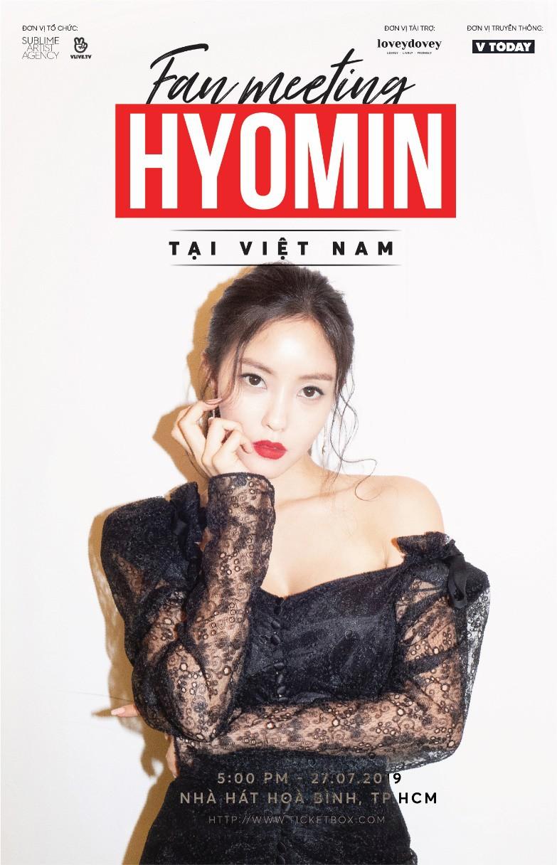 Hyomin (T-Ara) tổ chức fan meeting đầu tiên tại Việt Nam - Ảnh 1.
