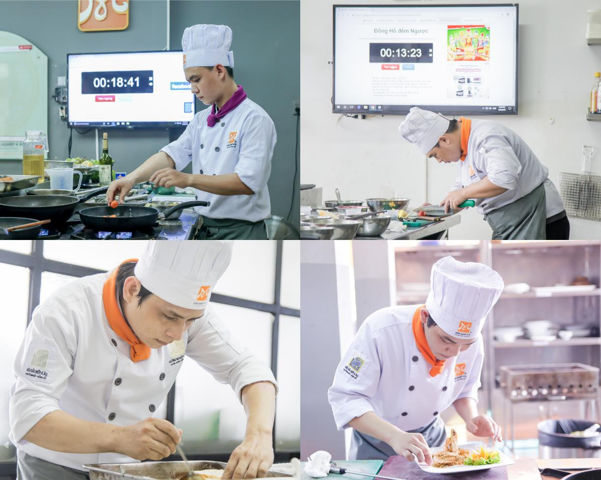 Cận cảnh ngày thi tốt nghiệp của một đầu bếp - Ảnh 2.