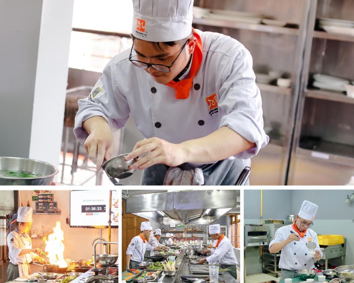 Cận cảnh ngày thi tốt nghiệp của một đầu bếp - Ảnh 3.