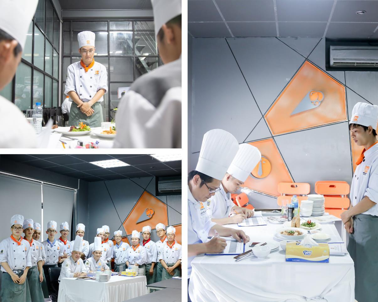 Cận cảnh ngày thi tốt nghiệp của một đầu bếp - Ảnh 4.