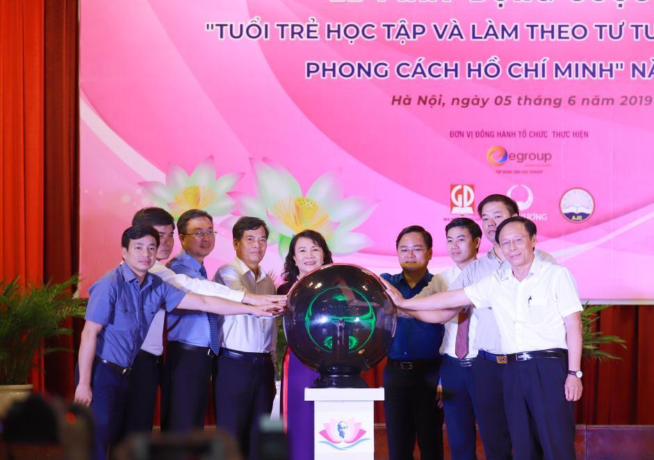 """Hưởng ứng cuộc thi """"Tuổi trẻ học tập và làm theo tư tưởng, đạo đức, phong cách Hồ Chí Minh"""" - Ảnh 1."""