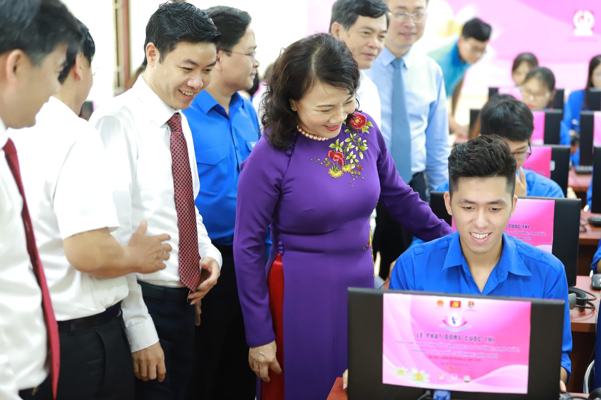 """Hưởng ứng cuộc thi """"Tuổi trẻ học tập và làm theo tư tưởng, đạo đức, phong cách Hồ Chí Minh"""" - Ảnh 2."""