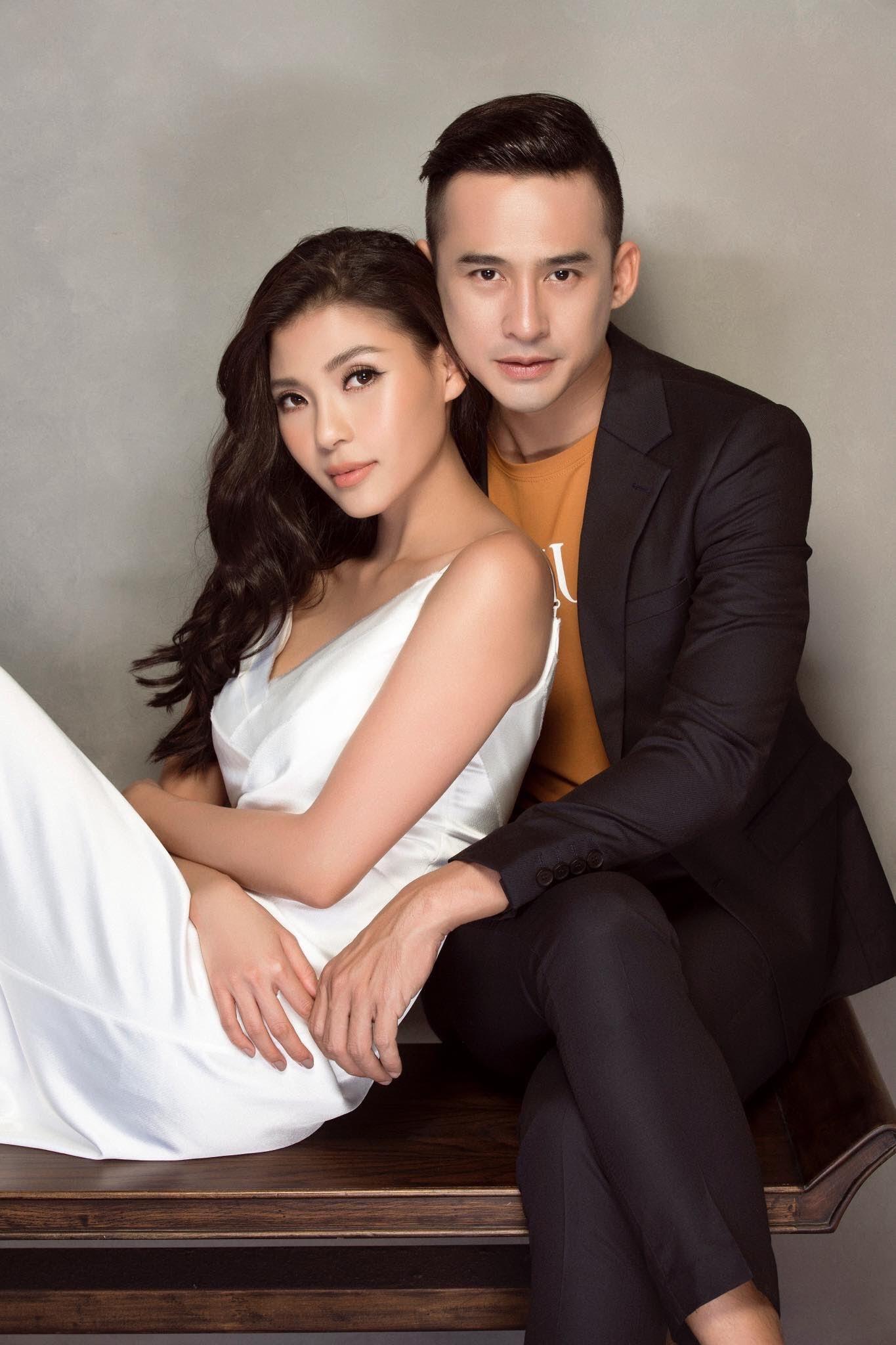 Chán chê đóng phim, vợ chồng Lương Thế Thành - Thuý Diễm lần đầu ngồi ghế nóng đấu trường nhan sắc - Ảnh 1.