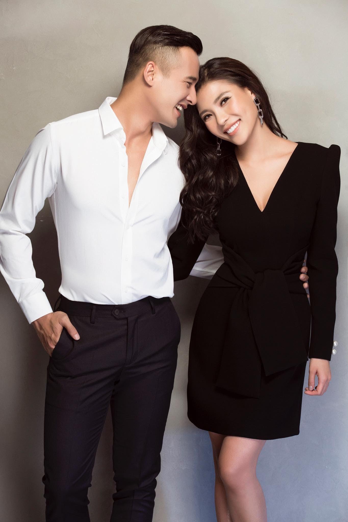 Chán chê đóng phim, vợ chồng Lương Thế Thành - Thuý Diễm lần đầu ngồi ghế nóng đấu trường nhan sắc - Ảnh 2.