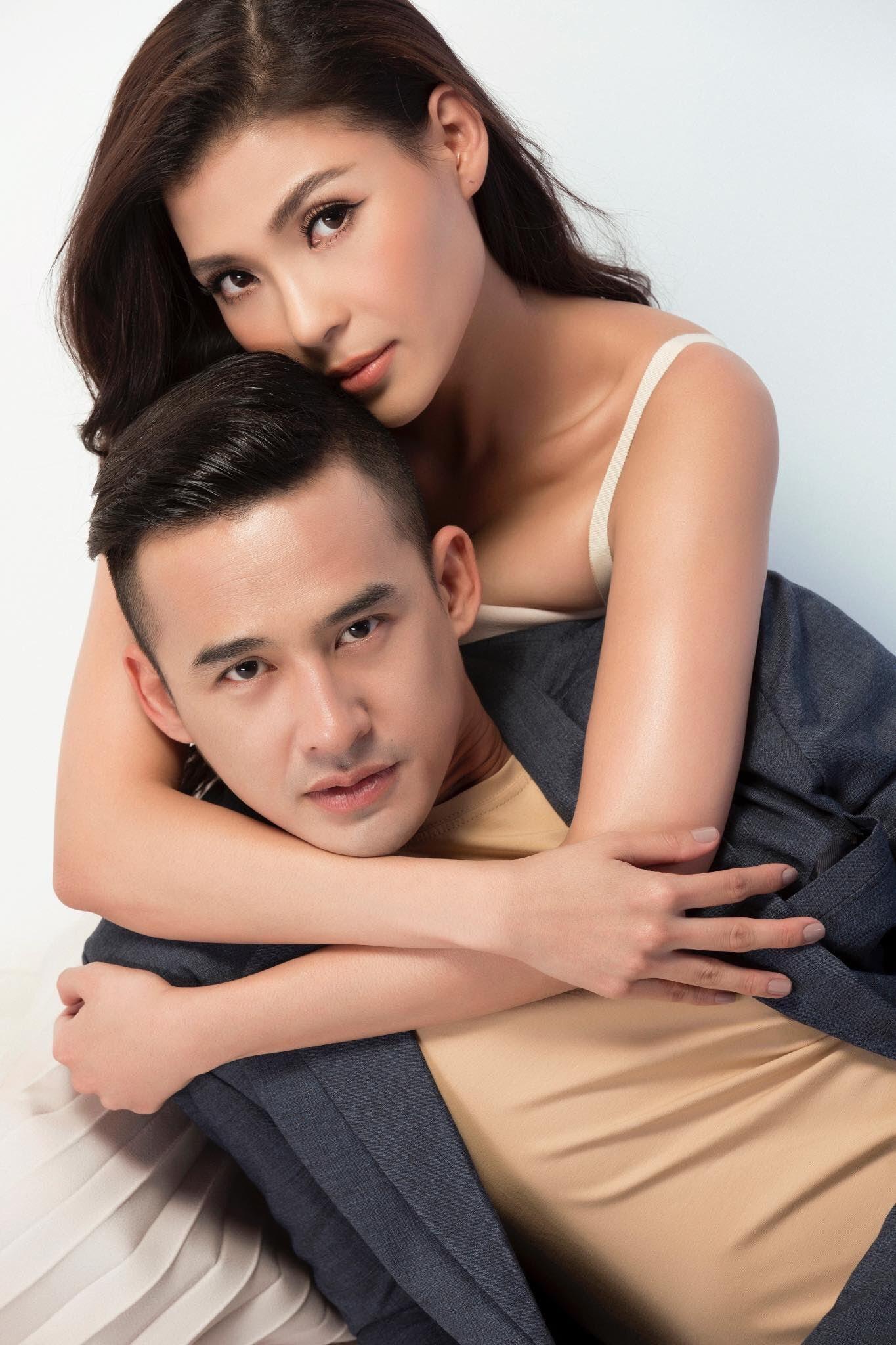 Chán chê đóng phim, vợ chồng Lương Thế Thành - Thuý Diễm lần đầu ngồi ghế nóng đấu trường nhan sắc - Ảnh 3.