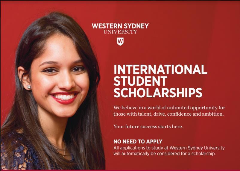 Học bổng không giới hạn với Đại học Western Sydney - Ảnh 2.