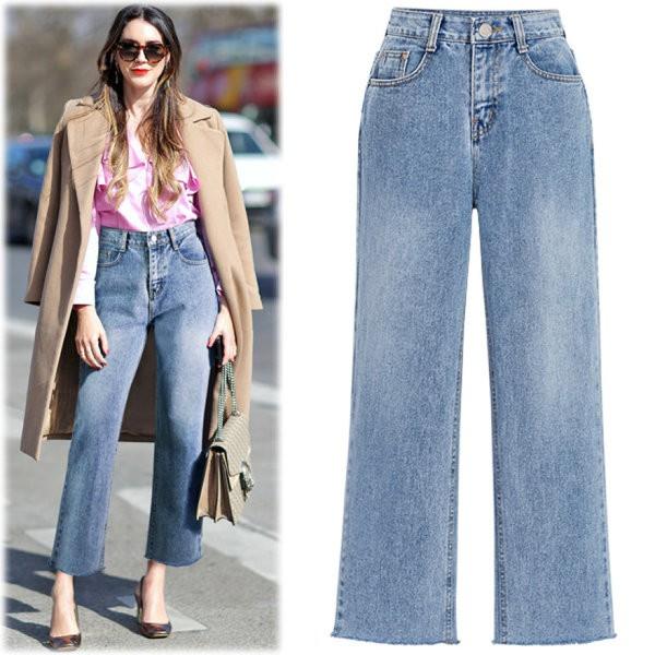 Ai bảo diện quần jeans là xuề xòa, nàng công sở cứ chất và xinh bất chấp nếu diện 3 mẫu quần hot-trend này - Ảnh 2.