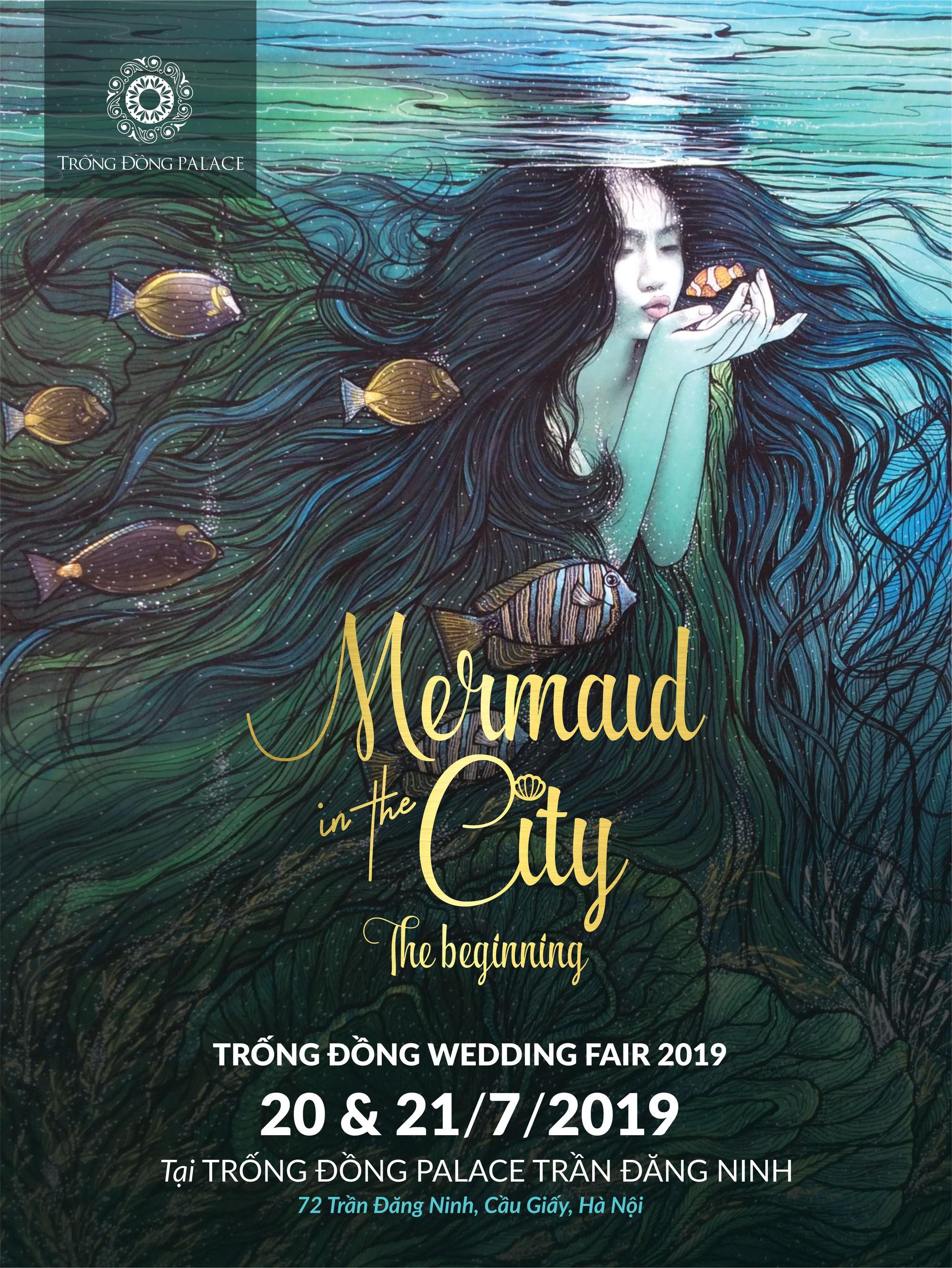 Trống Đồng Wedding Fair 2019 – Biến thành nàng tiên cá hòa mình vào đại dương quà tặng - Ảnh 1.