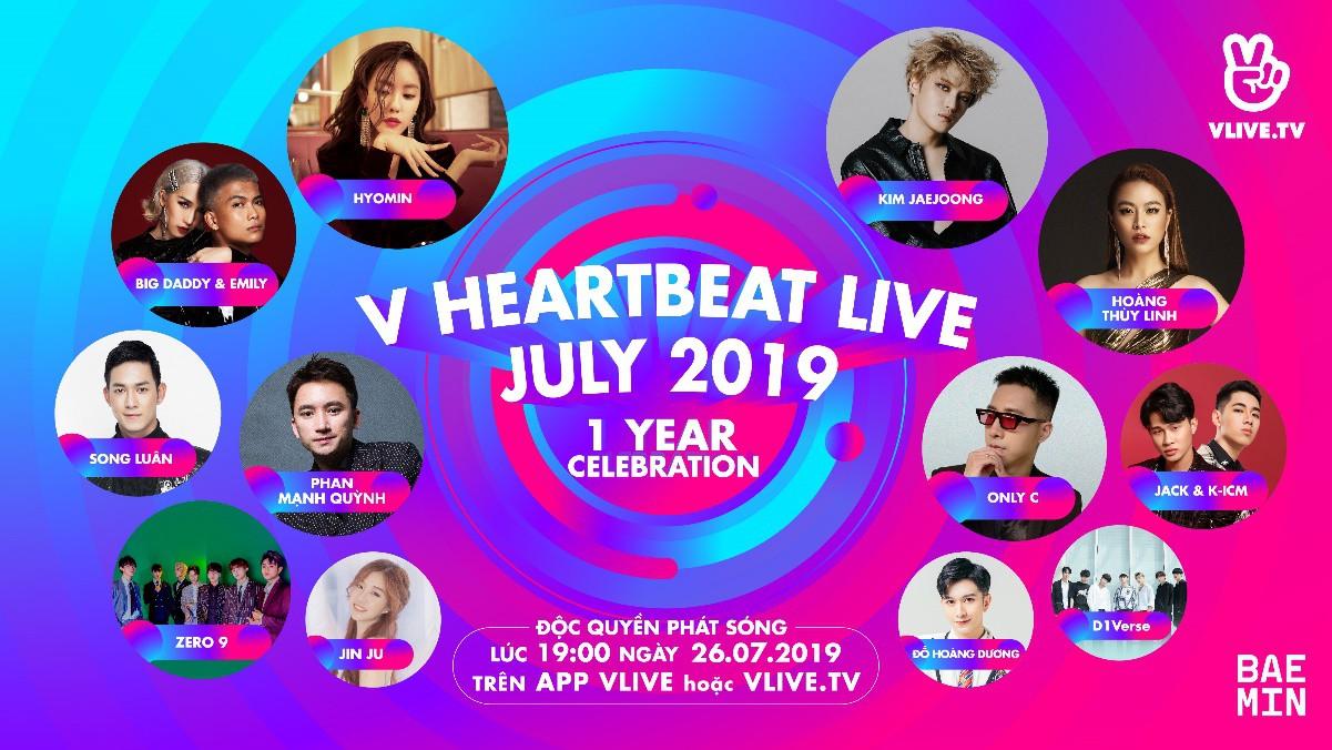 Săn vé VIP gặp gỡ Kim Jae Joong và Hyomin tại V Heartbeat 7 - Ảnh 1.