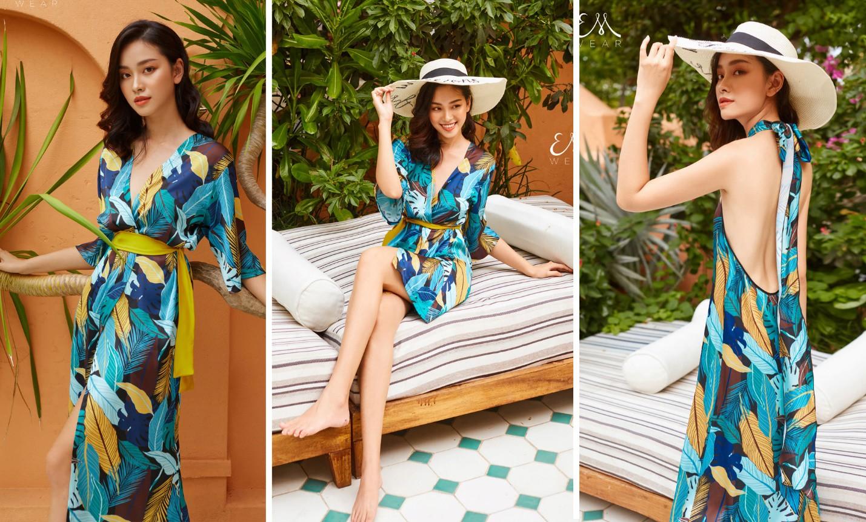 Tropical '19 Collection – Xu hướng váy lụa nhiệt đới cho những chuyến đi mùa hè - Ảnh 2.
