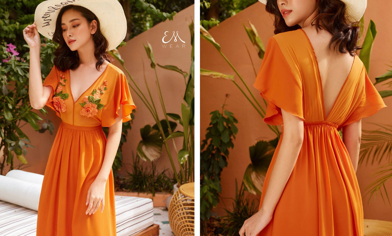 Tropical '19 Collection – Xu hướng váy lụa nhiệt đới cho những chuyến đi mùa hè - Ảnh 4.