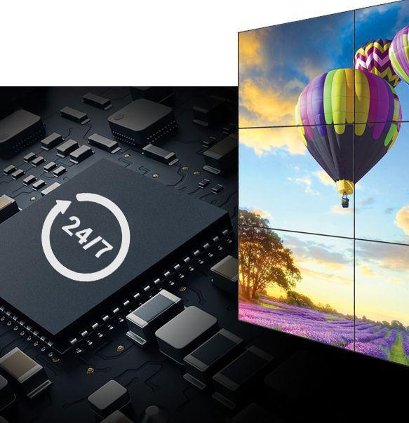 Màn hình Video Wall AOC – giải pháp thương hiệu cho doanh nghiệp - Ảnh 1.