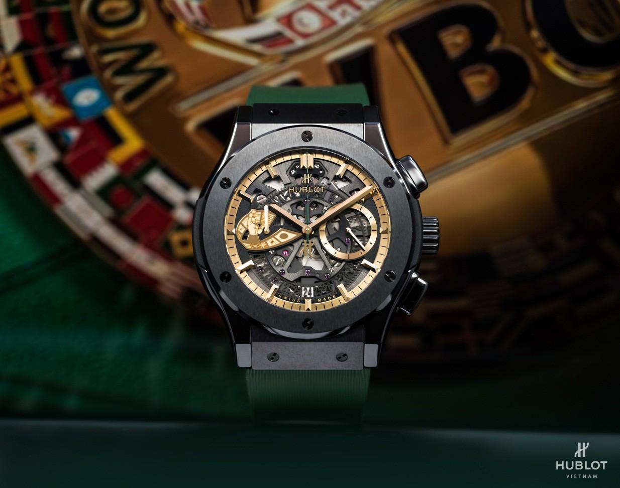 Dấu ấn Việt Nam trên chiếc đồng hồ Hublot Classic Fusion WBC độc bản - Ảnh 2.