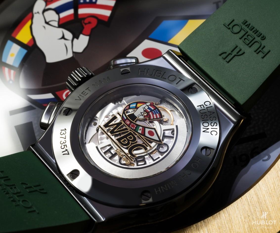 Dấu ấn Việt Nam trên chiếc đồng hồ Hublot Classic Fusion WBC độc bản - Ảnh 4.