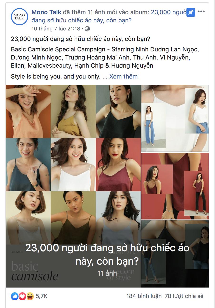 23.000 sản phẩm bán ra, đây chính là mẫu áo mà hàng loạt các sao yêu thích - Ảnh 17.