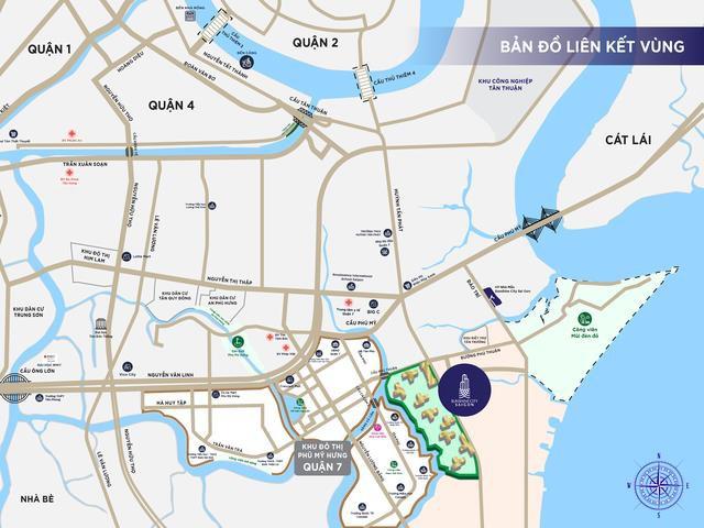 """Sunshine City Sài Gòn nối dài """"đại lộ quốc tế"""" tại khu vực Nam Sài Gòn - Ảnh 1."""