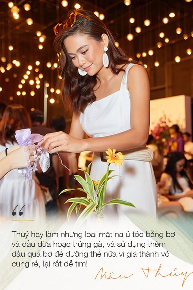 Bí quyết giữ vẻ đẹp rạng ngời, câu trả lời giản đơn không tưởng từ Á hậu Mâu Thủy khiến các cô gái không khỏi ngỡ ngàng - Ảnh 5.