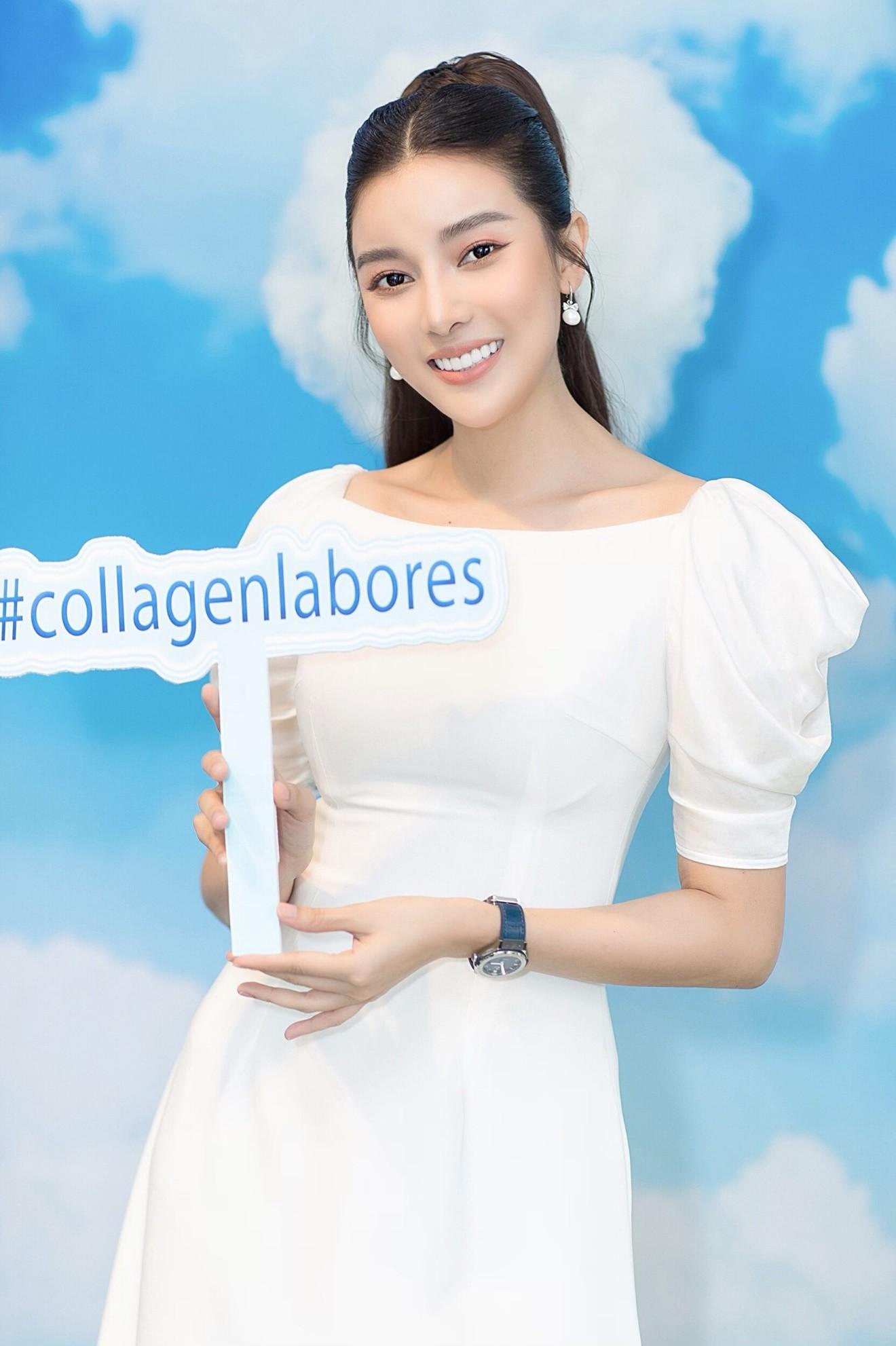 Cao Thái Hà chính thức bước vào lĩnh vực làm đẹp với Collagen Labores - Ảnh 1.