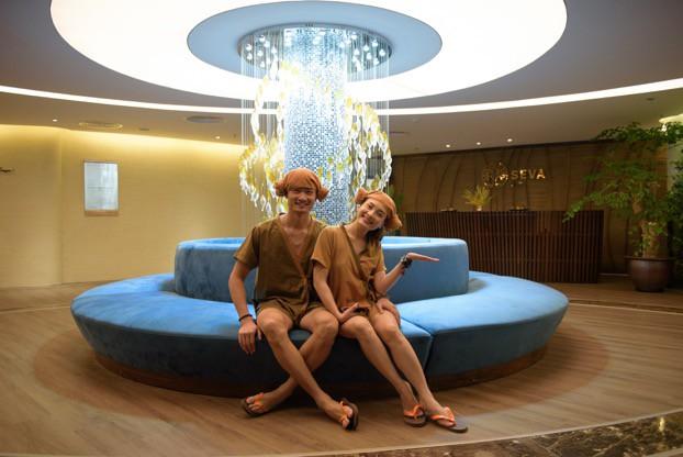 """""""Về Nhà Đi Con"""" ngoại truyện: Thư – Vũ rủ nhau đi trốn tại resort siêu xanh ngay gần Hà Nội - Ảnh 7."""