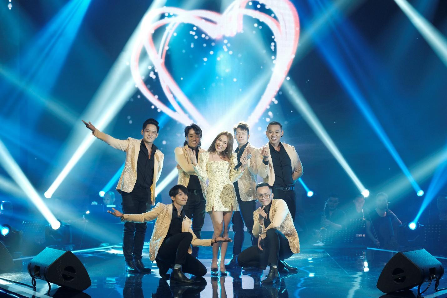 Mỹ Tâm song ca cực tình tứ cùng Noo Phước Thịnh, Tóc Tiên khoe vũ đạo nóng bỏng trên sân khấu Secret Concert - Ảnh 6.