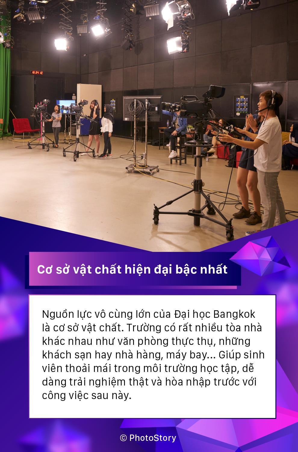 Lý do host Asias Next Top Model Cindy Bishop, Hoa hậu Thái Lan 2012 Farida Waller cùng nhiều KOLs Thái chọn Đại học Bangkok - Ảnh 4.