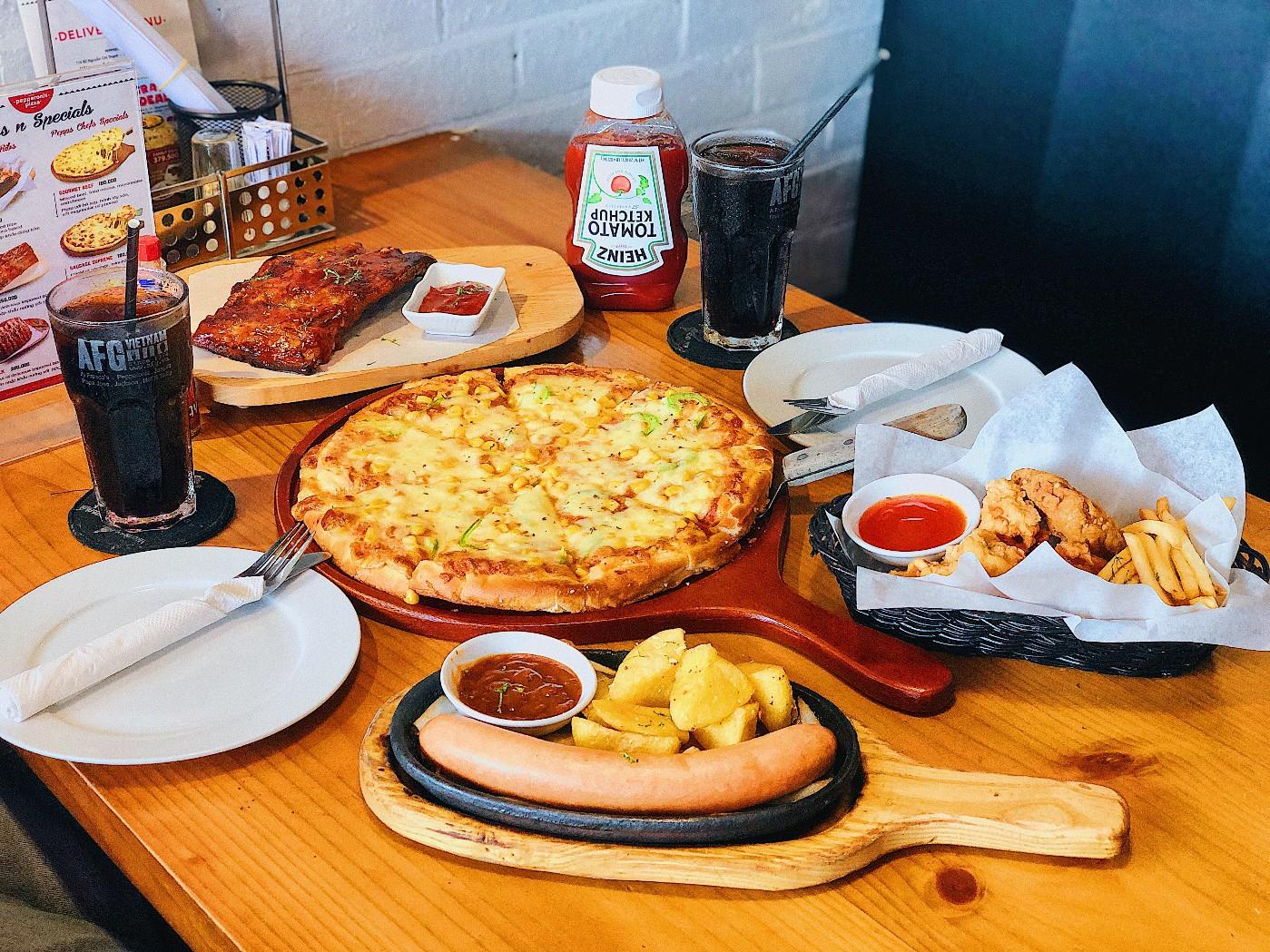 Meat Lover's – Ưu đãi pizza, sườn, gà, xúc xích cực shock chỉ từ 100k/người - Ảnh 1.
