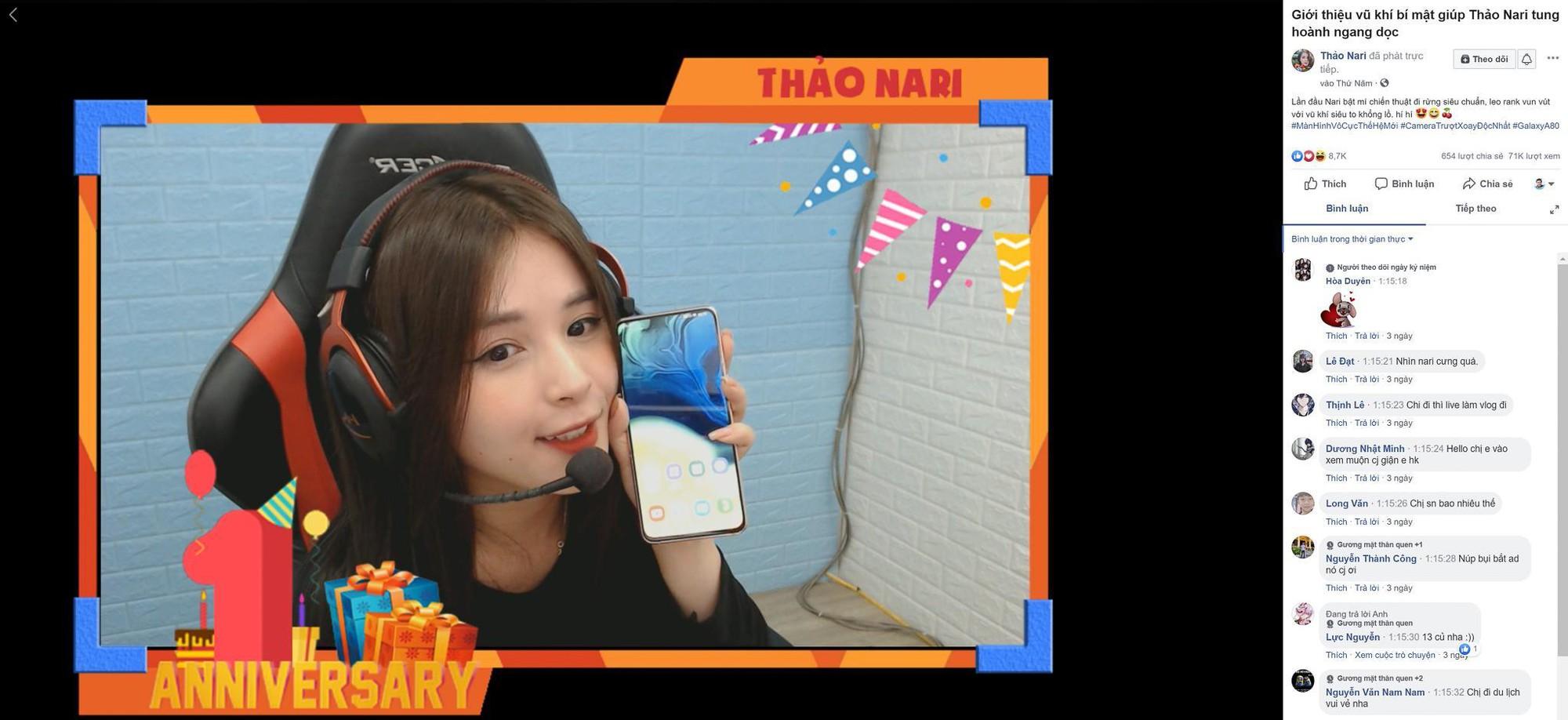 Trai xinh Trần Ba Duy và gái đẹp Thảo Nari cùng bật mí vũ khí bí mật khi livestream - Ảnh 1.