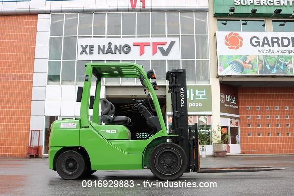 Thuê xe nâng cũ nhập khẩu chính ngạch từ TFV Industries - Ảnh 2.