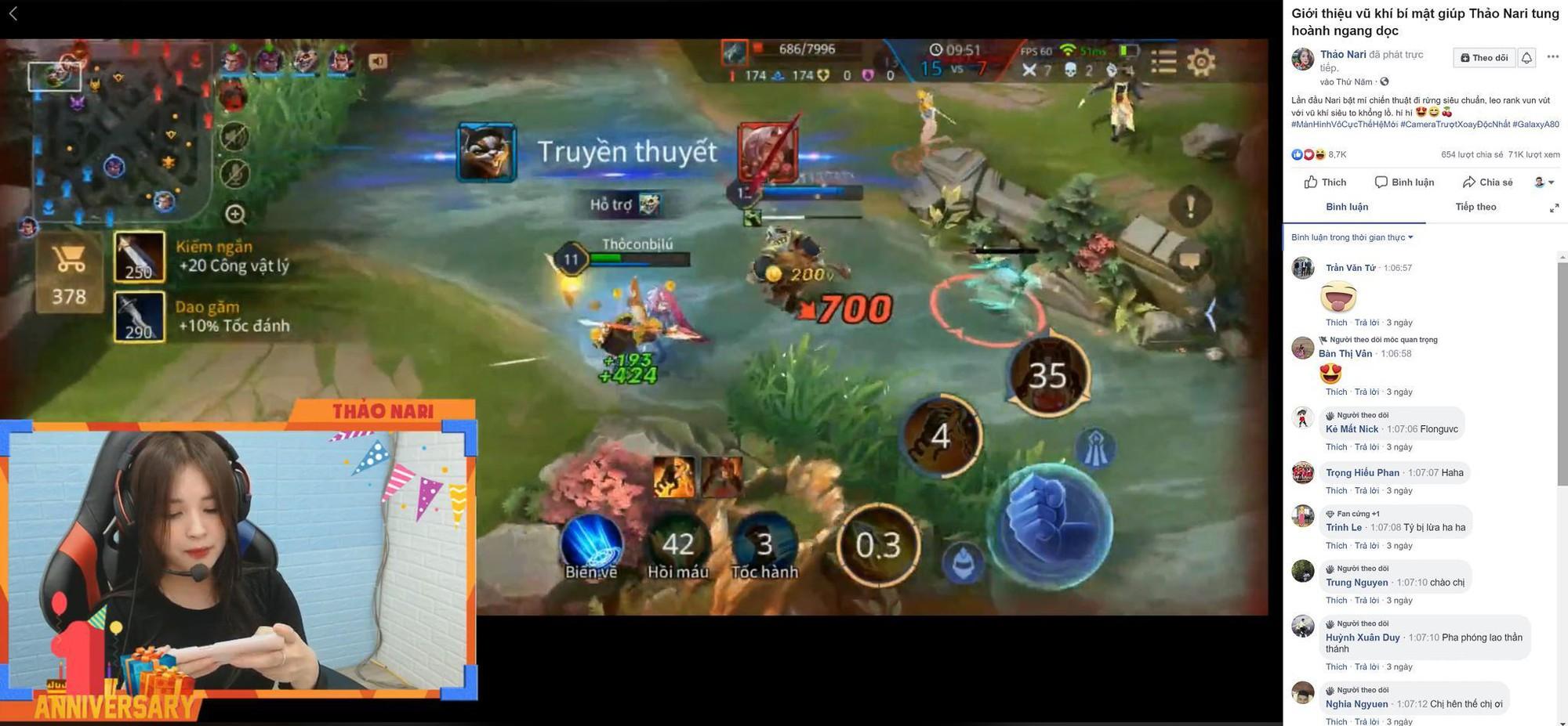 Trai xinh Trần Ba Duy và gái đẹp Thảo Nari cùng bật mí vũ khí bí mật khi livestream - Ảnh 3.