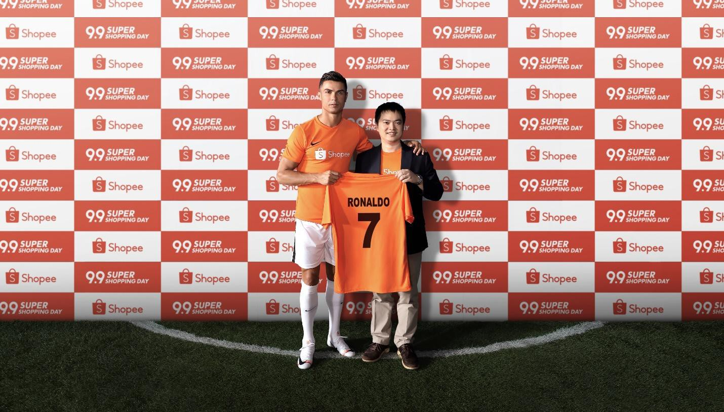 Huyền thoại bóng đá thế giới Cristiano Ronaldo trở thành đại sứ thương hiệu của Shopee - Ảnh 2.