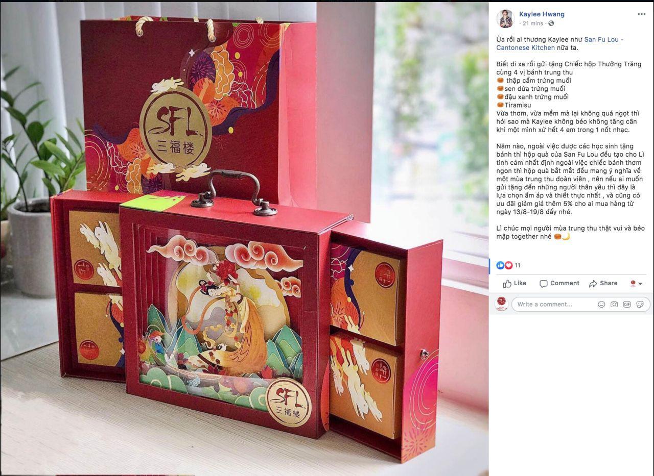 """""""Sốt xình xịch"""" hộp bánh Trung thu Rương Kho Báu siêu hot Tết đoàn viên - Ảnh 3."""