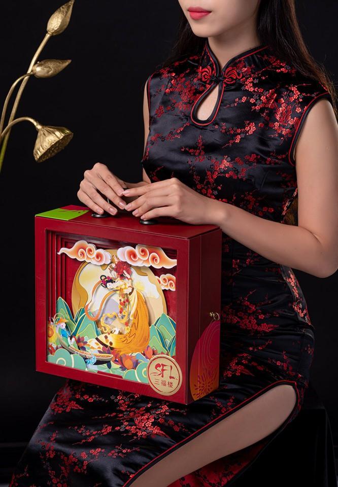 """""""Sốt xình xịch"""" hộp bánh Trung thu Rương Kho Báu siêu hot Tết đoàn viên - Ảnh 4."""