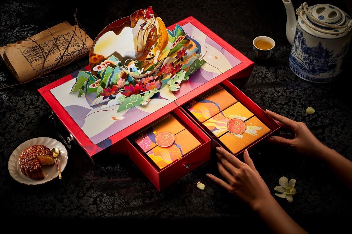 """""""Sốt xình xịch"""" hộp bánh Trung thu Rương Kho Báu siêu hot Tết đoàn viên - Ảnh 8."""