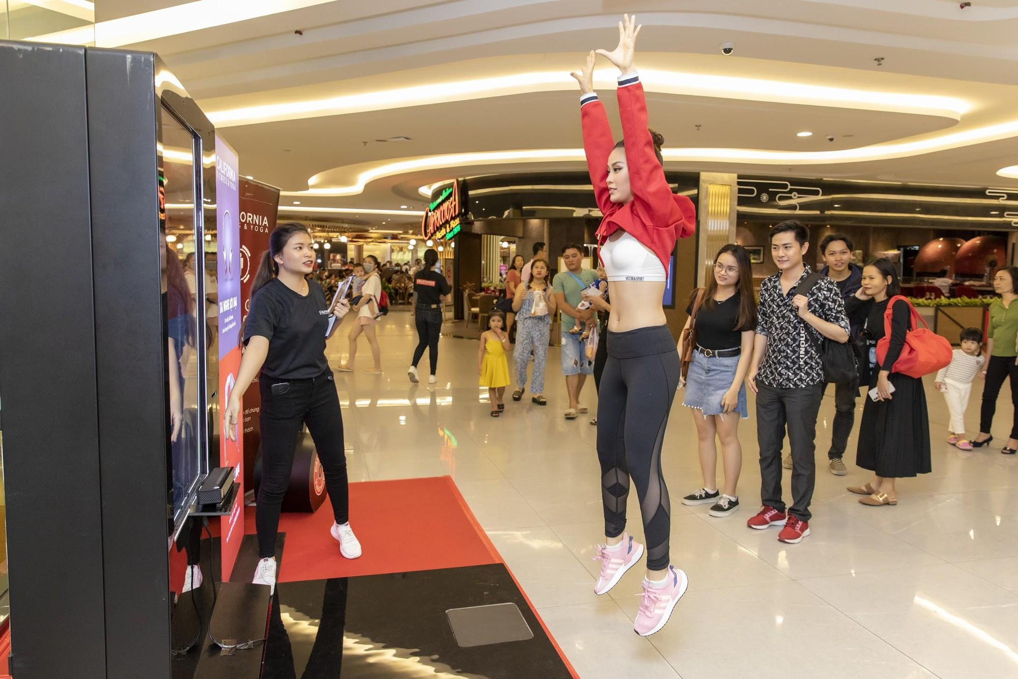 Sao Việt tò mò muốn biết lượng mỡ thừa với máy đo BMI công nghệ cao - Ảnh 5.