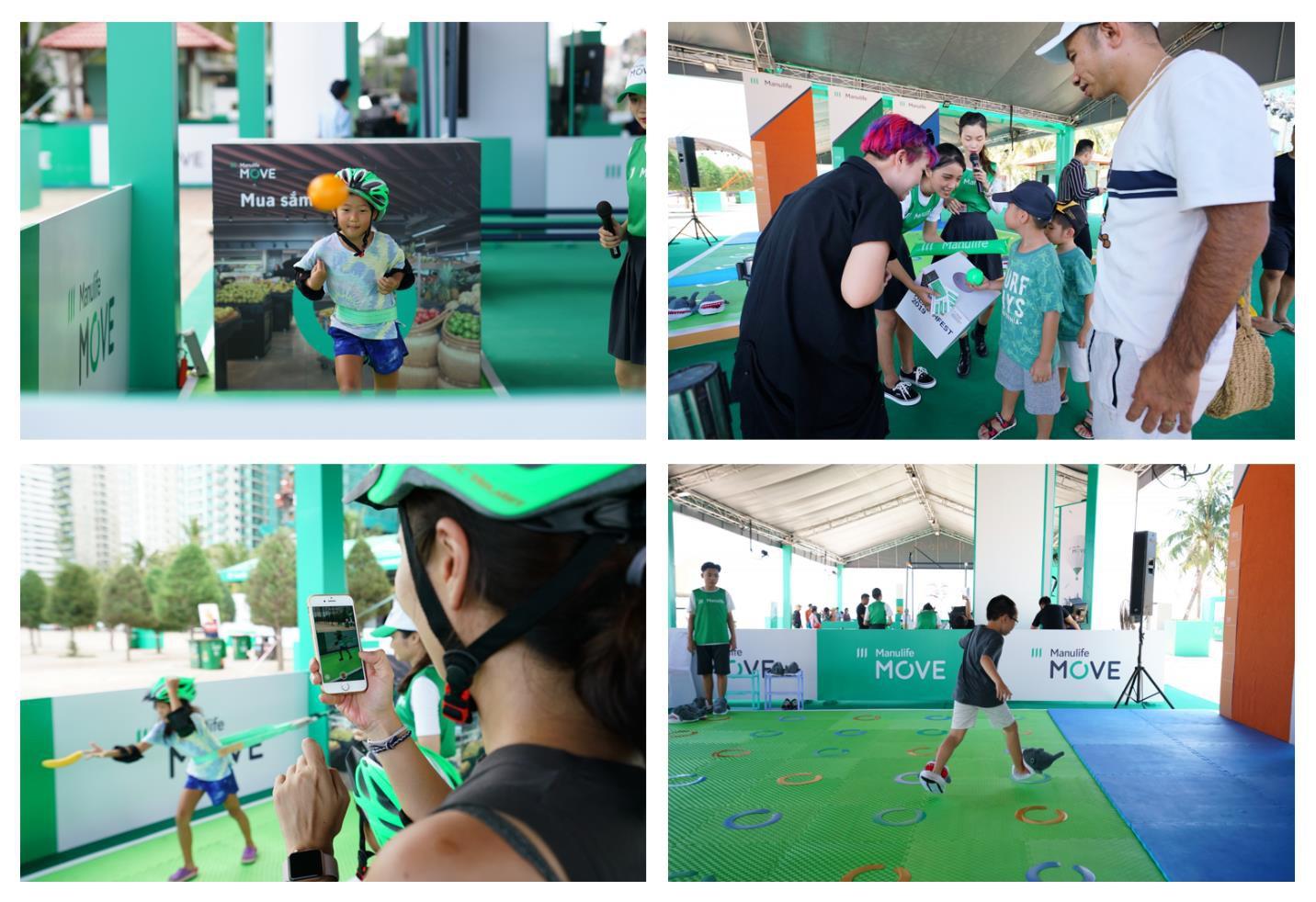 Manulife Việt Nam tạo sân chơi thêm niềm vui vận động - Ảnh 1.
