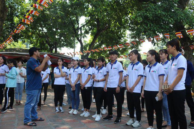 Sinh viên Trường Cao đẳng Quốc tế Hà Nội tự tin bước vào năm học mới - ảnh 3