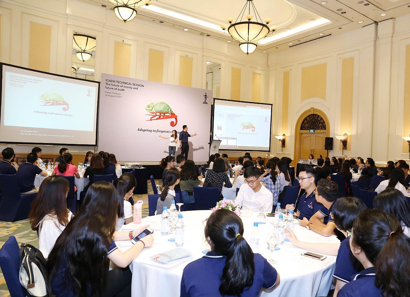 ICAEW tổ chức hội thảo chuyên môn cho học viên với chủ đề Tương lai của tiền tệ và ngành kiểm toán - Ảnh 4.