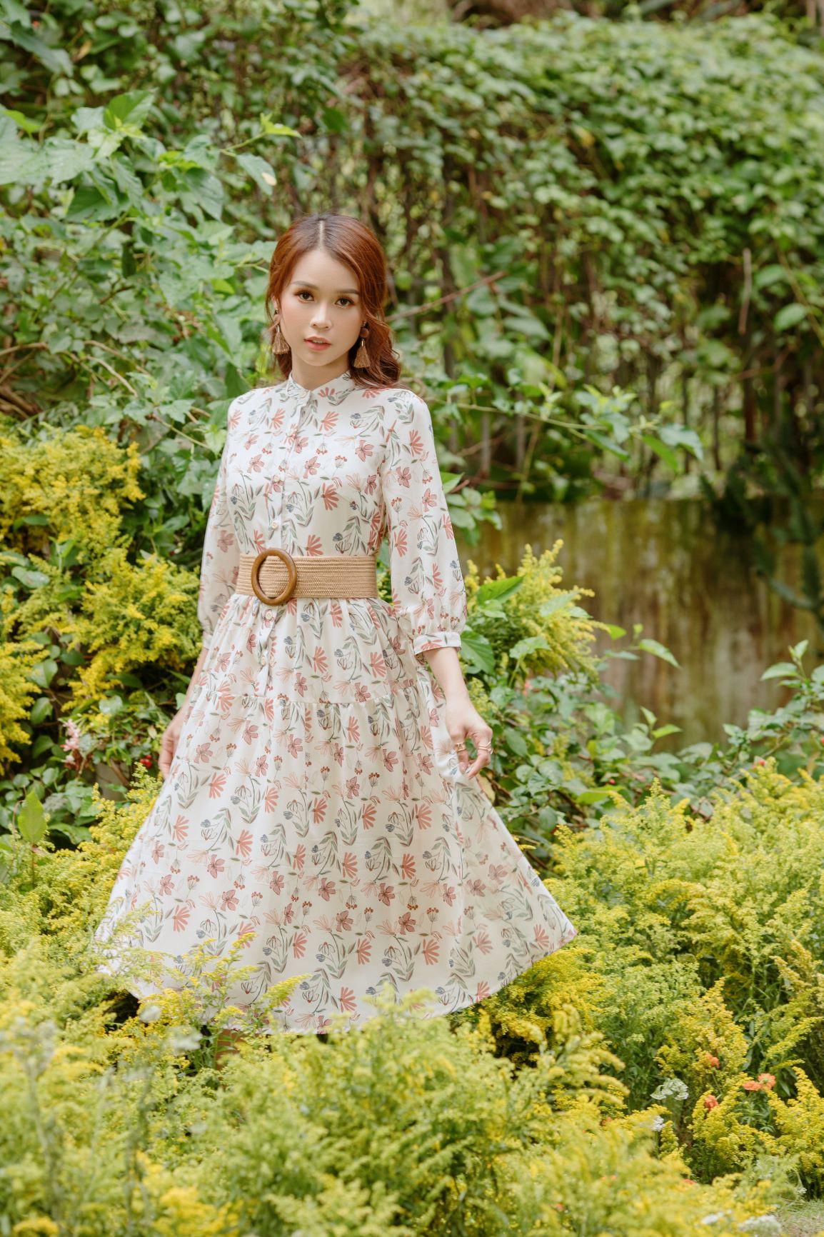 Cùng Sam đón mùa thu dịu dàng bằng những mẫu váy đẹp đến nao lòng - Ảnh 3.
