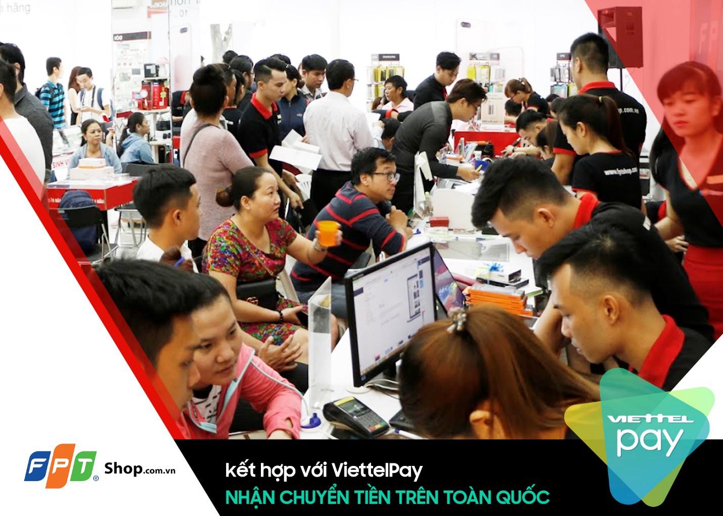 Đã có thể chuyển tiền trên toàn quốc thông qua dịch vụ ViettelPay tại FPT Shop - Ảnh 2.