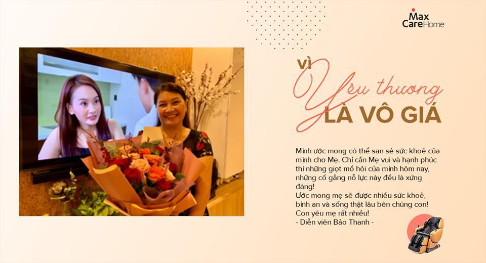 Bảo Thanh, Nguyễn Ngọc Thạch cùng nghìn người con gửi gắm lời yêu thương đến cha mẹ mùa Vu Lan - Ảnh 1.