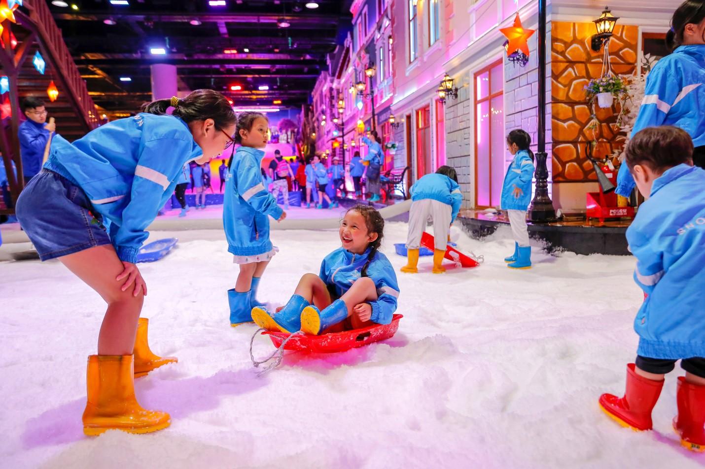 Cơ hội đi Đà Lạt miễn phí khi chụp ảnh tại Snow Town - Ảnh 8.