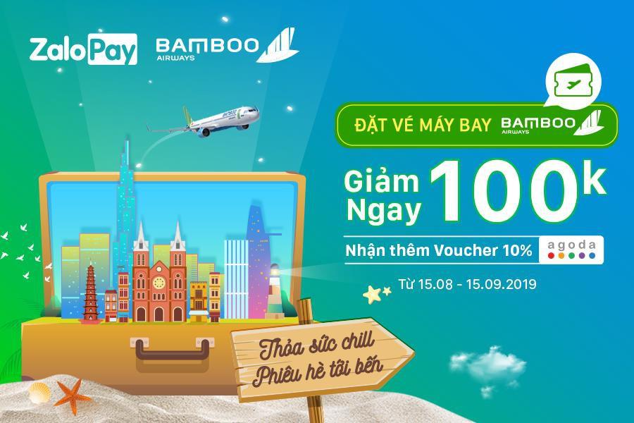 Bamboo Airways triển khai bán vé 25 đường bay trên ZaloPay với ưu đãi hấp dẫn - Ảnh 1.