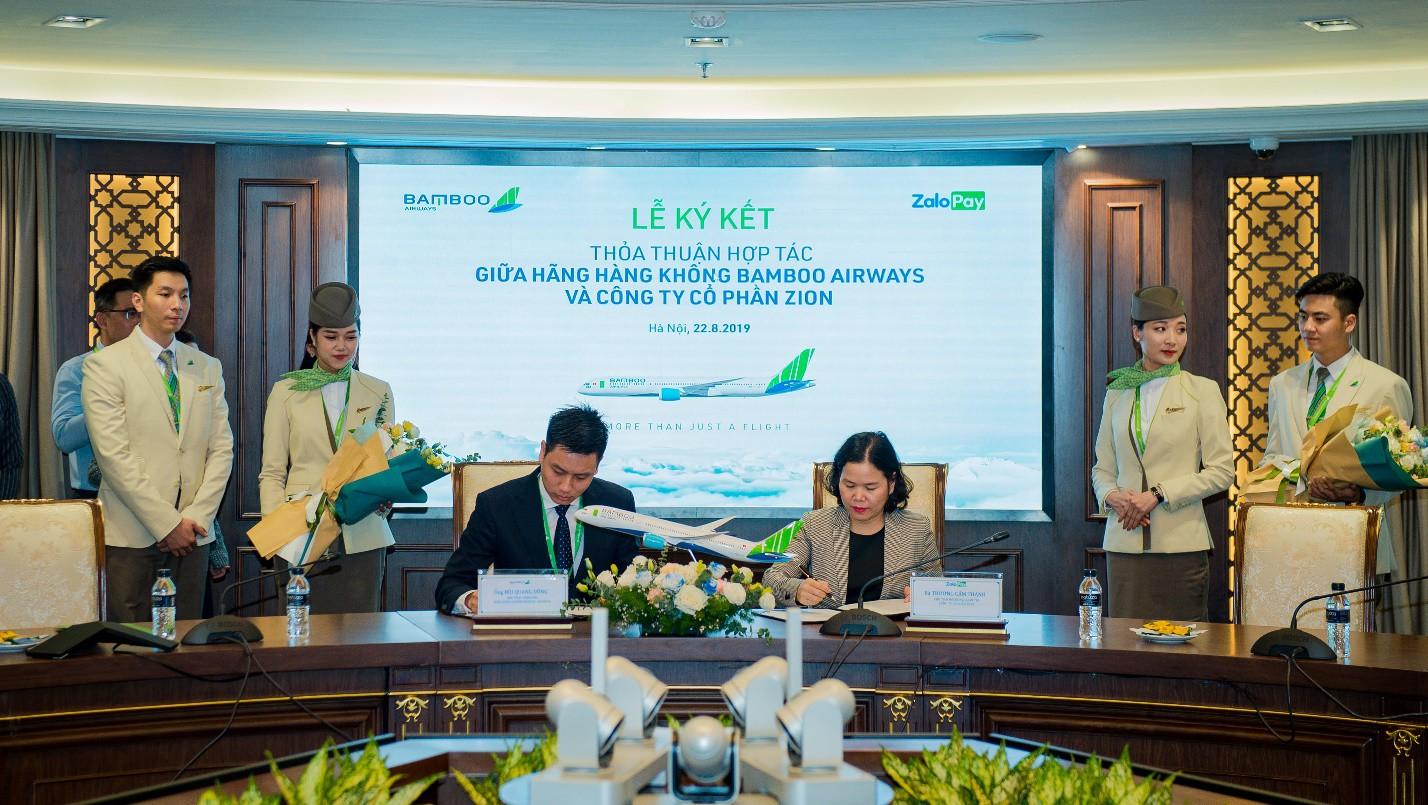 Bamboo Airways triển khai bán vé 25 đường bay trên ZaloPay với ưu đãi hấp dẫn - Ảnh 2.